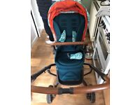 Mammas and Papas, Donna Wilson fox pushchair and accessories