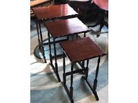 Mahogany Nest of Tables (@07752751518)