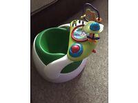 Mamas & Papas Baby Snug Activity Tray Green