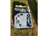 Slazenger premium Golf Travel Bag in blsk