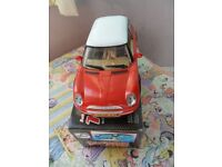 Battery Operated Mini Toy Car with Light and Motor Sound (Boxed)