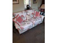 Lovely small bespoke sofa