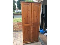 Solid pine wardrobe+delivery available