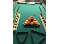 Pool table, full size, very good condition