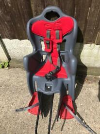 Toddlers rear bike child seat