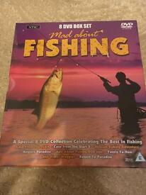 New Fishing x8 DVD's