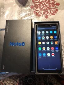Samsung note 8 64gb Unlocked very good condition almost new