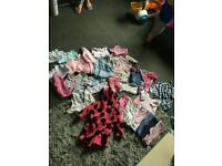Baby girls bundle clothes