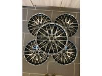Alloy wheels. Calibre alloys. Refurbished.
