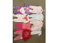 Brand new girls up to 3 months bundle