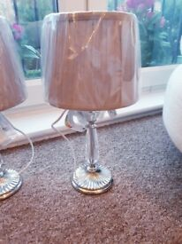 Delux Grey Crystal Light Lamp (more than one available if required)