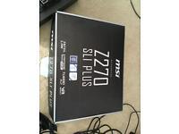 Motherboard MSI Z270 SLI PLUS with 128gb nvme ssd