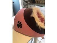 Pink Cat bed unused