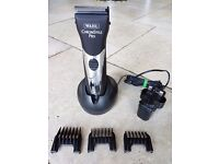 Wahl ChromStyle Pro with No's 1, 2 & 3 slide-on attachment combs
