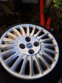 Fiat steel wheels & tyres