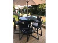 Garden bar set
