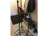 5 Studio lights stand
