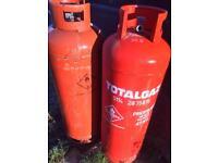 2 X 47kg propane bottles empty