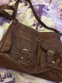 Brown large bag
