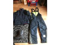 Flexitog Freezer outfit jacket overalls and boots