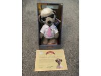 'Sergei' Meerkat boxed soft toy.