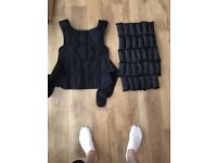 MMA 25kg Weighted Vest