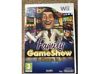 Family Gameshow Wii Game