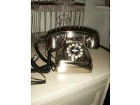 Wild & Wolf retro classic 1930s style lobby phone / telephone