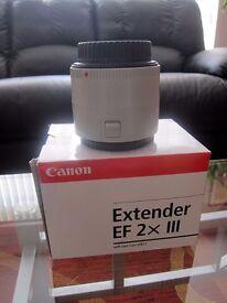 Canon extender 2X mark3