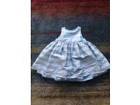 Girls Gap dress 6-12 months. £5