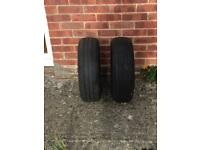 2 Nearly New Tyres