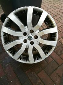 GENUINE RANGE ROVER ALLOY FOR SPARE