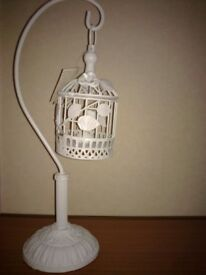 3 Items tealight candle holders shabby chic tea light bird cage new stars love heart CAN DELIVER