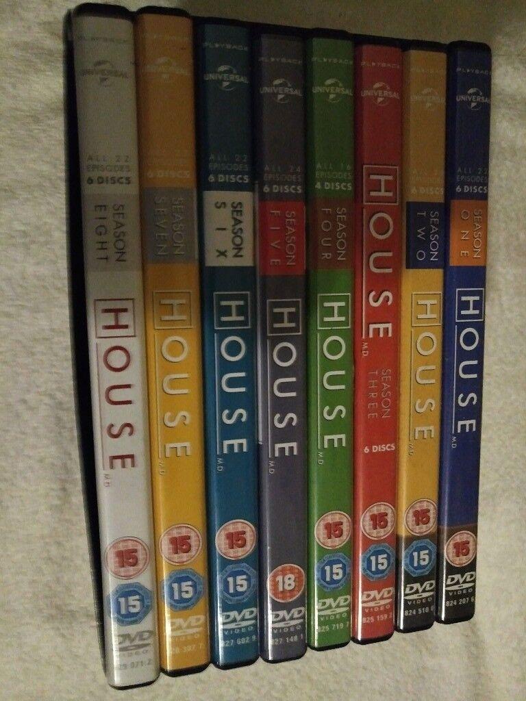 House complete series seasons 1-8 DVD