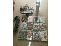 Xbox 360 kinect games and wireless controllers