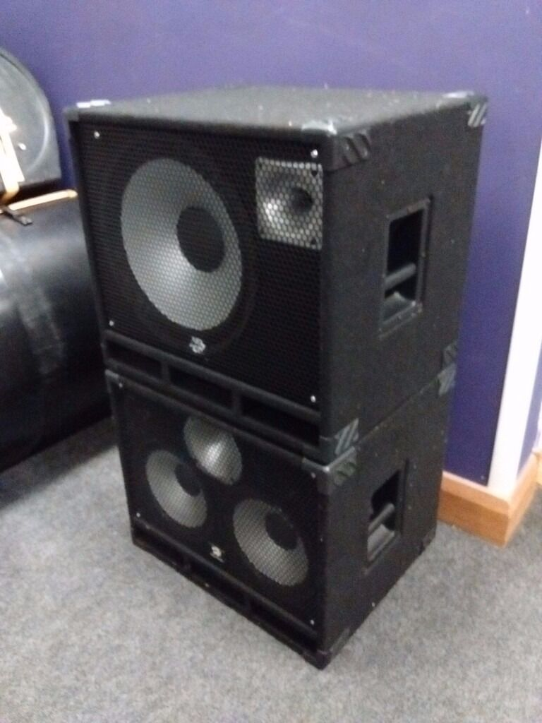 1x15 Guitar Cabinet Bass Guitar Cab S 2x10 And 1x15 8ohm Each In Exeter Devon