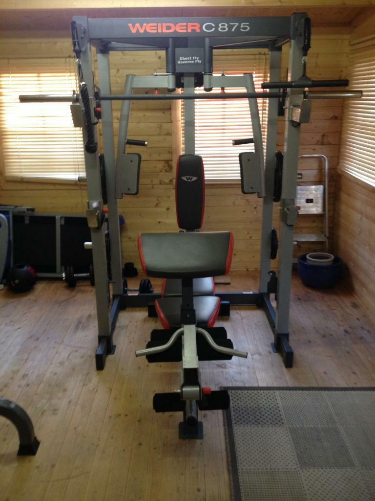 Home gym weight bench great condition in shirehampton