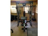 Home gym/weight bench - great condition