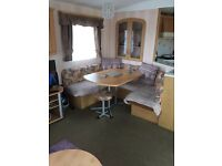 beautiful 3 bedroom caravan to let trecco bay