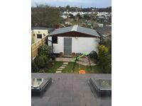 Double Compton Concrete Garage [External measurements 6m Length x 3.49m Width x 2.55m Height.]