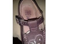 Clarks First shoes for girls