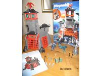 Playmobil Set 5480 - Secret Dragon Fortress 100% complete including box and instructions