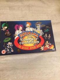 Futurama DVD boxset