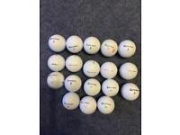 Taylor Made used golf balls