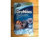 Boys Dry Nites pants 4-7 year olds