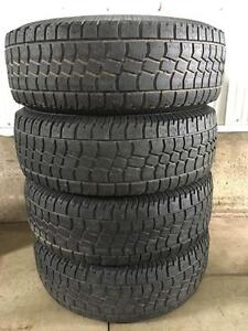 Set of 265/75R16 truck tires