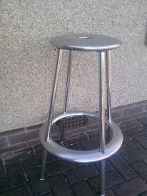Alloy bar stool