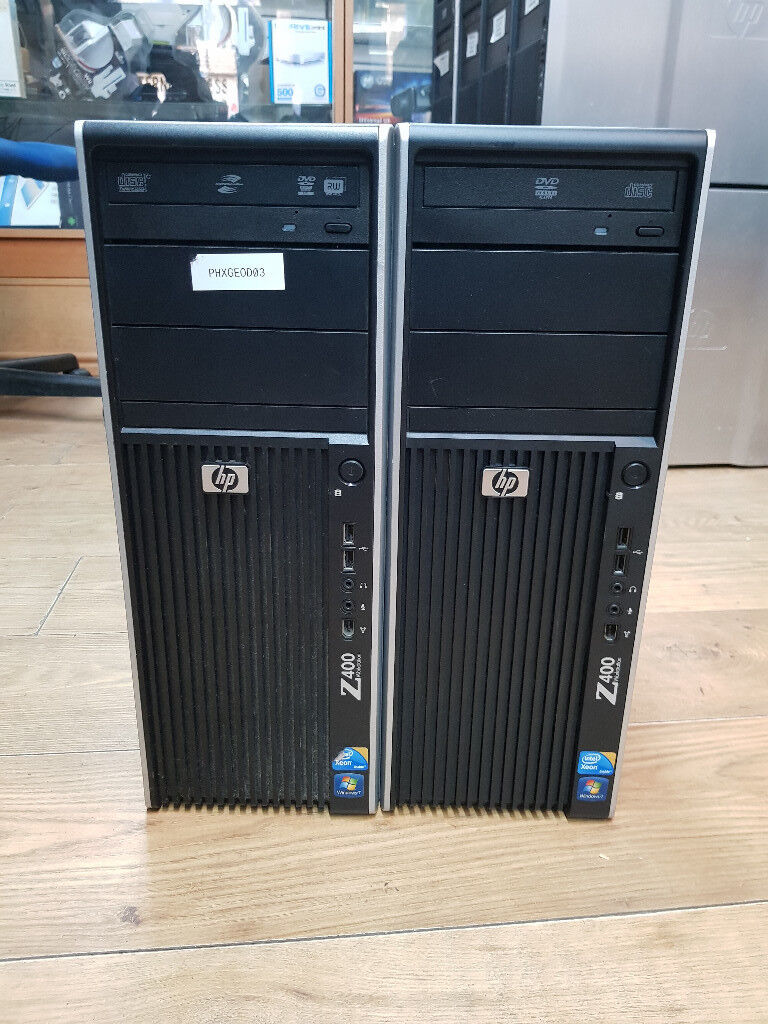 HP Z400 Workstation Intel Xeon-W3550 CPU @3 06GHZ 8GB RAM 500GB HDD Win  7Pro | in Wood Green, London | Gumtree
