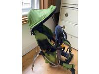 Deuter Kid Comfort Plus: Child Carrier Backpack