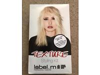 Label.m texture styling kit BNIB